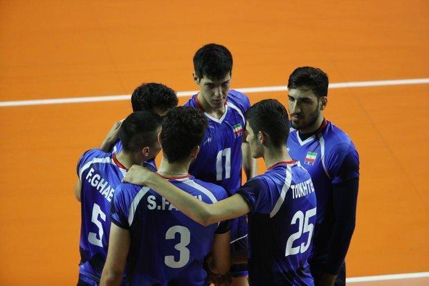برنامه مرحله گروهی تیم ملی والیبال در رقابت های قهرمانی دنیا