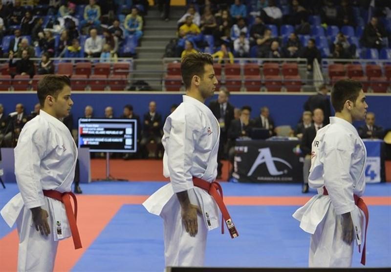 کاراته قهرمانی دنیا، تاریخ سازی تیم کاتای مردان با کسب نخستین برنز دنیا