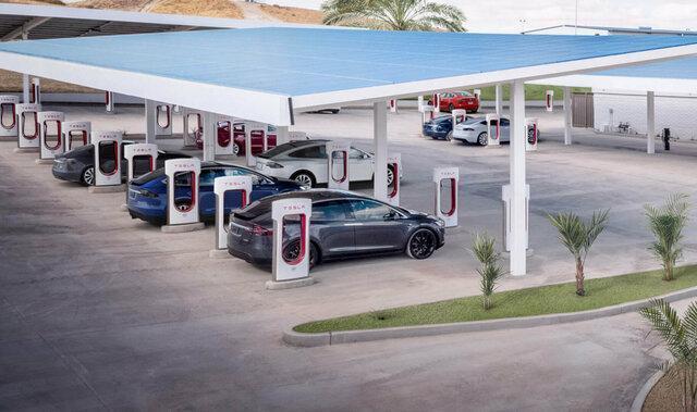 سراسر اروپا به سوپرشارژرهای تسلا تجهیز می گردد