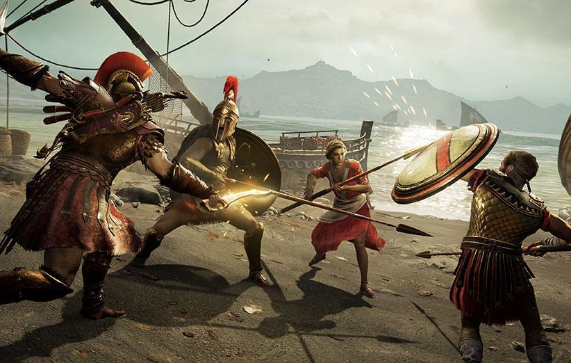 در Assassins Creed Odyssey داستان خود را تعریف کنید