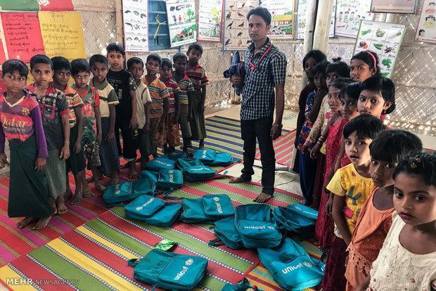 یونیسف کشورهای دنیا را به کمک مسلمانان میانمار فراخواند