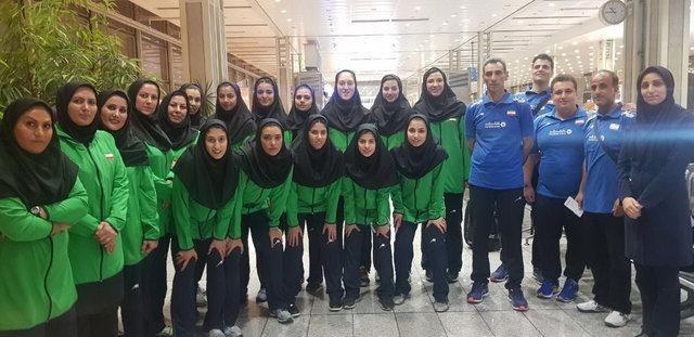 دختران والیبالیست ایران قهرمانی آسیا را با پیروزی آغاز کردند