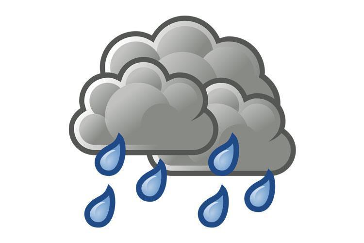 بارش باران در سواحل خزر و ارتفاعات البرز
