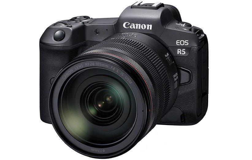 کانن EOS R5 قرار است اولین دوربین بدون آینه این شرکت با فیلم برداری 8K باشد!