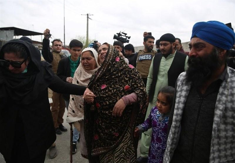 افزایش تلفات حمله داعش به عبادتگاه سیک ها در کابل به 25 کشته