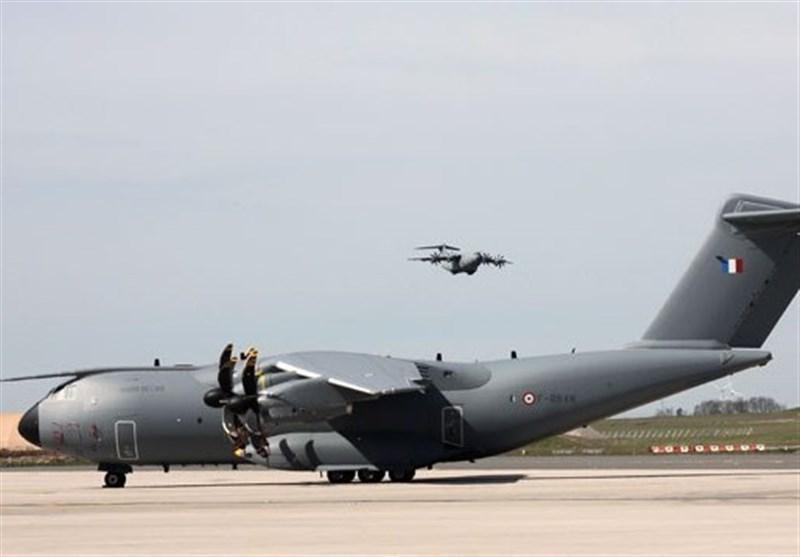 استفاده از نیروی هوایی فرانسه برای جابجایی بیماران مبتلا به کرونا