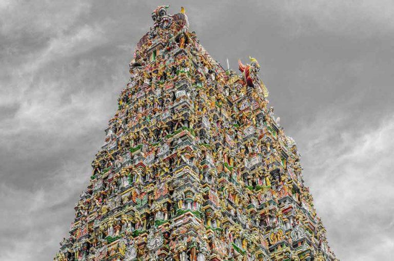 معبد میناکشی فراتر از تاج محل