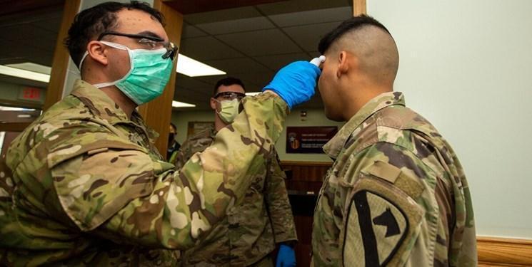 پنتاگون: مبتلایان به کرونا در نیروهای مسلح آمریکا از 7100 نفر فراتر رفت