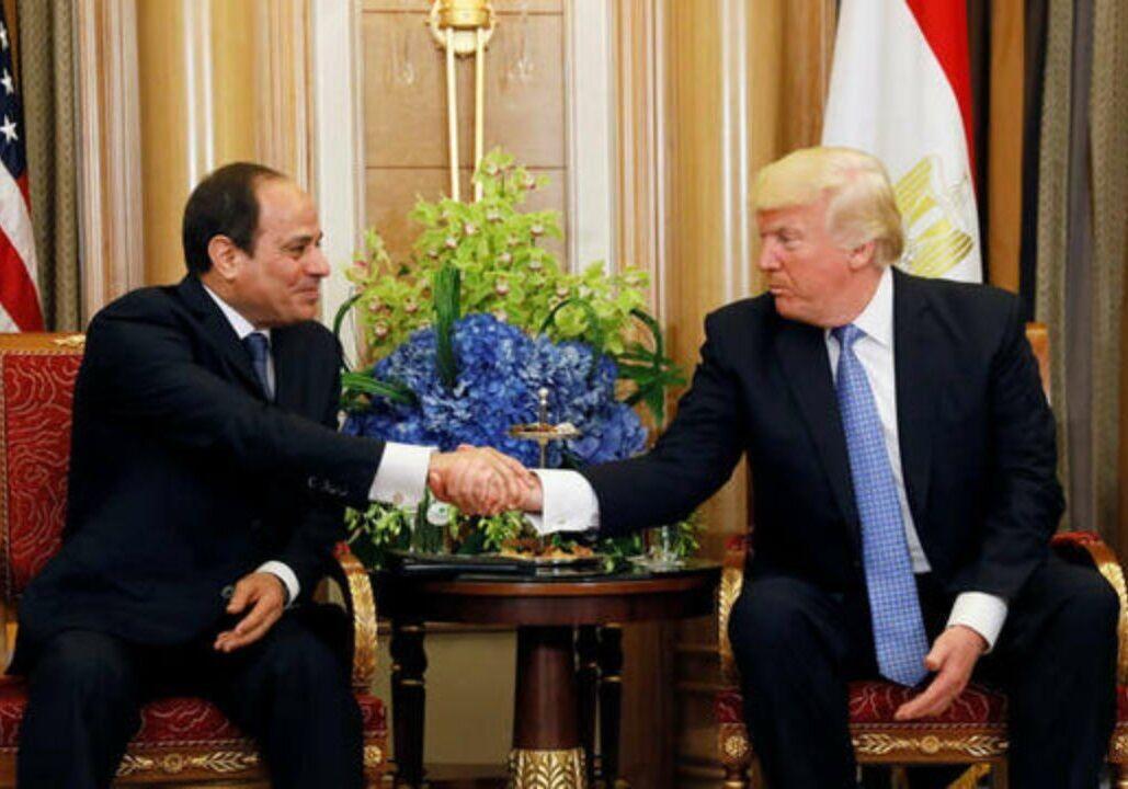 خبرنگاران ترامپ و السیسی درباره تثبیت آتش بس در لیبی توافق کردند