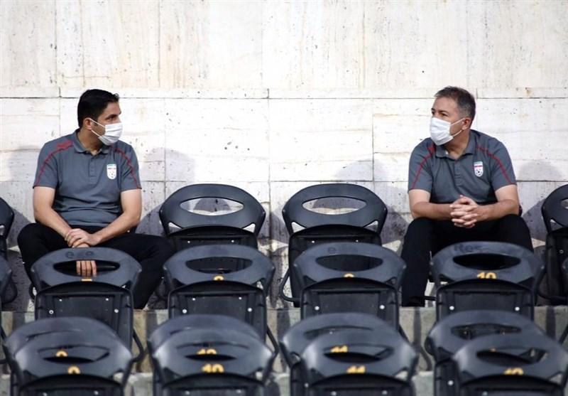اسکوچیچ و هاشمیان ملاقات استقلال و پیکان را از نزدیک تماشا می نمایند
