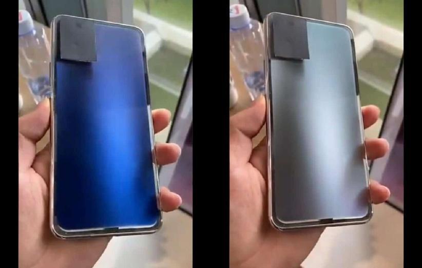 این گوشی می تواند رنگ پنل پشتی خود را تغییر دهد