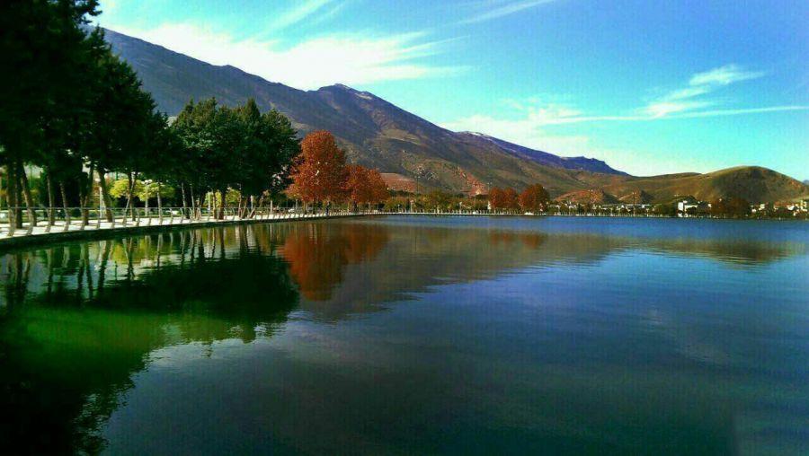 معرفی پارک زیبا کنار در خرم آباد همراه با آدرس