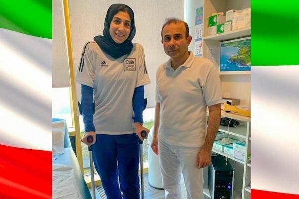 چرا بانوی المپیکی ایران باید دوباره به آلمان برود؟