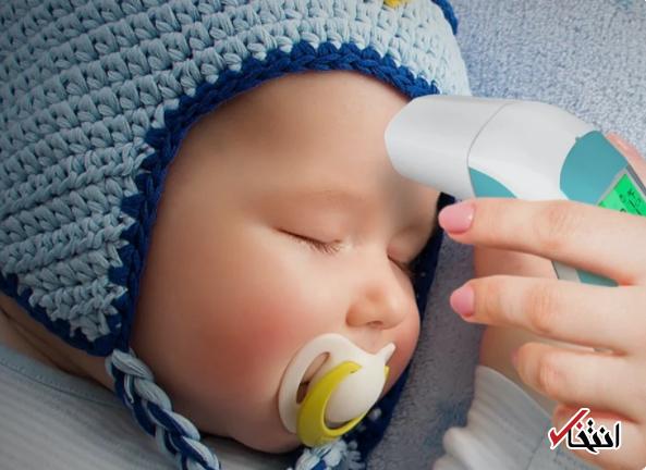 دماسنج دیجیتال نوزادان با قدرت ثبت 25 دمای متوالی