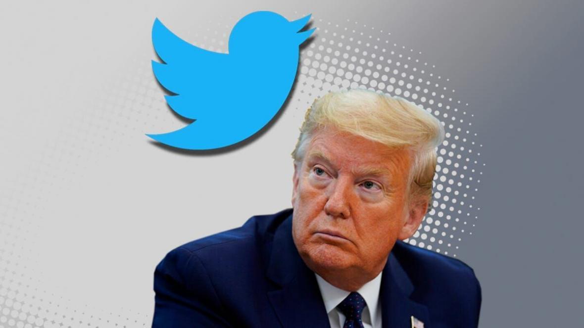 اقدام جدید توییتر علیه توییت های ترامپ