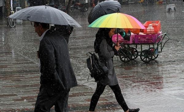 احتمال بارش پراکنده در بعضی از استان ها شمالی