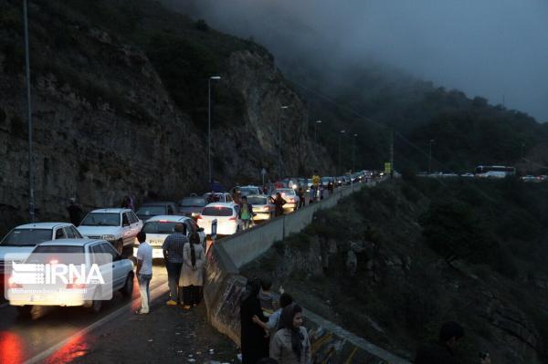 خبرنگاران ترافیک در محور فیروزکوه و چند آزادراه درون استان تهران سنگین است