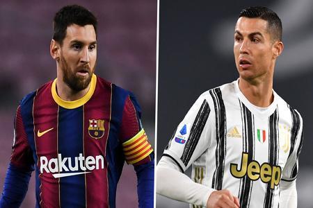 بمب بزرگ فوتبالی ؛ مسی و رونالدو همبازی می شوند