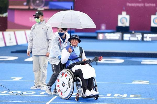 کسب نهمین طلای ایران در پارالمپیک؛ زهرا نعمتی هت تریک کرد